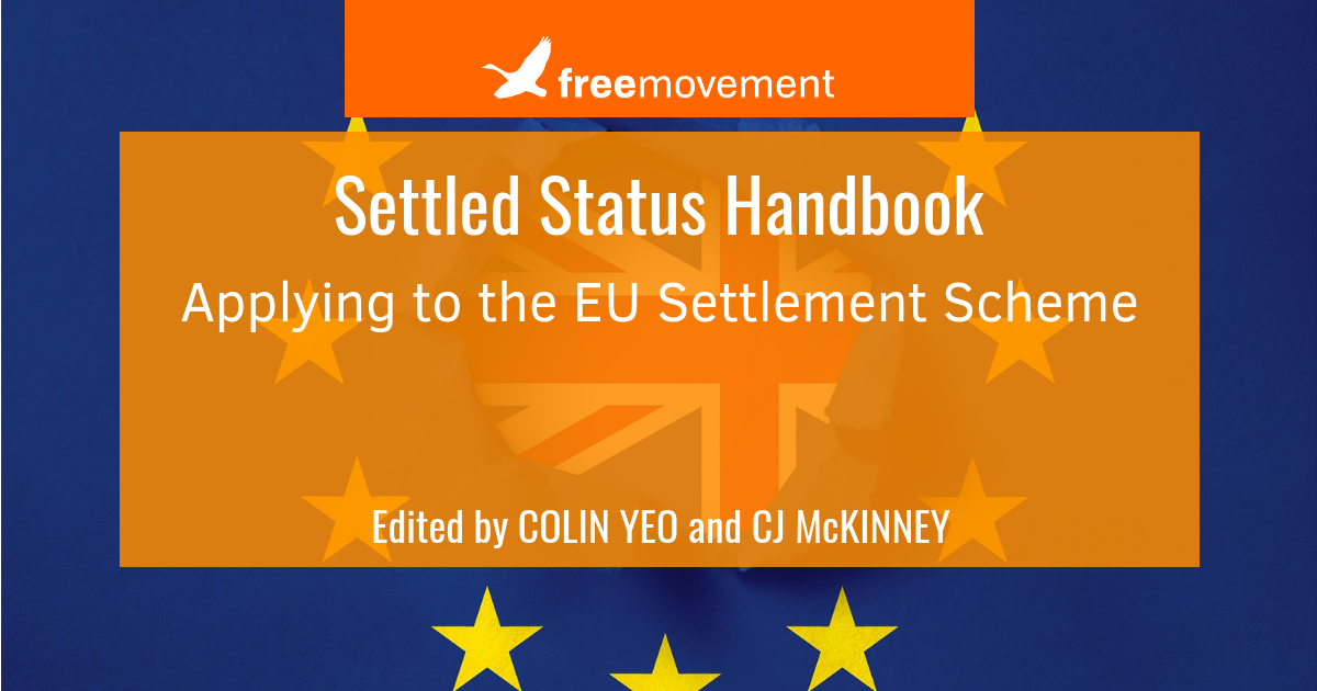 Settled Status Handbook: updated second edition out now, free for members